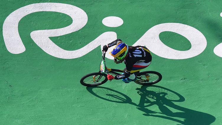 La Colombienne Mariana Pajon, championne olympique du BMX  (TIM DE WAELE / TDWSPORT SARL)