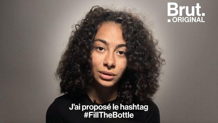 VIDEO. #Fillthebottle, un challenge écolo pour ramasser les mégots (BRUT)