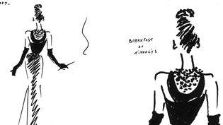 """A la ville comme au cinéma, Audrey Hepburna apporté son charme exceptionnel aux créations de Hubert de Givenchy : """"Sabrina"""" (1954), """"Drôle de frimousse""""(1957), """"Diamants sur canapé"""" (1961) et """"Comment voler un million de dollars""""(1966)...  (Hubert de Givenchy)"""
