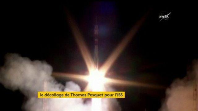 Le vaisseau Soyouz de Thomas Pesquet a décollé avec succès vers l'ISS