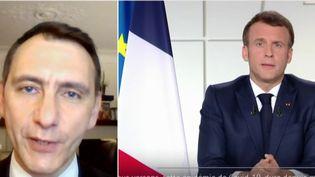 """Covid-19 : """"Emmanuel Macron semble tout savoir, mais n'apprend rien"""", affirme Laurent Jacobelli (FRANCEINFO)"""