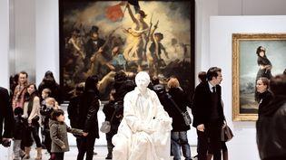Le Louvre-Lens lors de son ouverture au public, le 4 décembre 2012  (PHILIPPE HUGUEN / AFP)