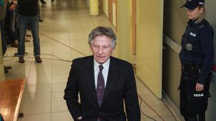 Roman Polanski, le 25 février 2015 dans un tribunal de Cracovie (Pologne) pour contester son extradition demandée par les Etats-Unis. (MAXPPP)