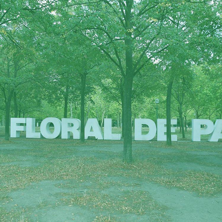 L'entrée du parc floral à Paris, le 19 août 2015. (MAXPPP)