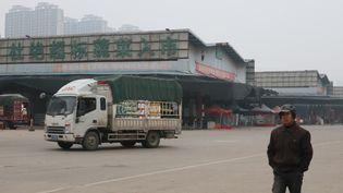 Un marché de Wuhan (Chine), le 1er décembre. (KOKI KATAOKA / YOMIURI)
