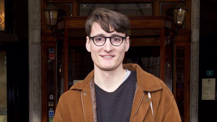 Pierre Adrian, le 26 janvier à Paris  (Julio Piatti)