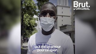 """VIDEO. """"La boxe, c'est une thérapie"""" : rencontre avec Souleymane Cissokho (BRUT)"""