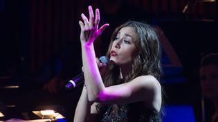 Olivia Ruiz lors des Francofolies de New-York en septembre 2013 (DAVE KOTINSKY / GETTY IMAGES NORTH AMERICA)