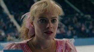 L'actrice Margot Robbie dans le rôle de la patineuse américaine Tonya Harding. (FRANCE 3)