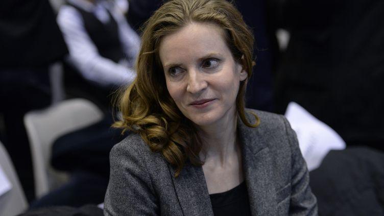 Nathalie Kosciusco-Morizet lors d'un meeting des Républicains le 9 décembre 2015 à Issy-les-Moulineaux (Hauts-de-Seine). (MIGUEL MEDINA / AFP)
