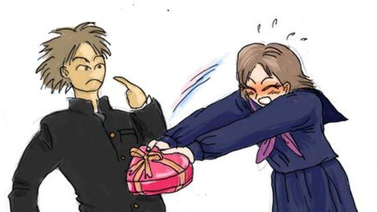 Au Japon à la St Valentin, la femme offre les chocolats. (DR)