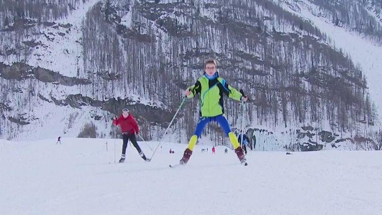 Savoie : la station de ski de Bessans fait le plein malgré la fermeture des remontées mécaniques (France 3)