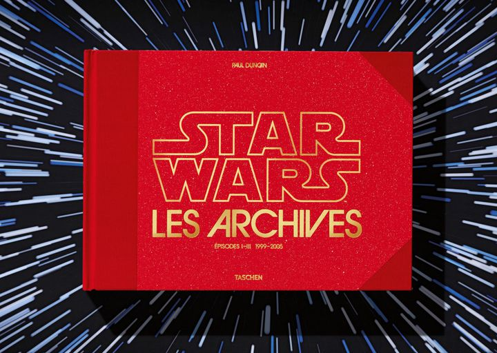 """Front cover of """"Star Wars II Archives"""" by Paul Duncan.  (TASCHEN EDITIONS)"""