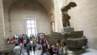 La Victoire de Samothrace au musée du Louvre en 2009.  (Loïc Venance/AFP)