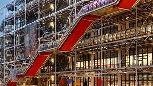Le Centre Georges Pompidou, à Paris. (MANUEL COHEN / MANUEL COHEN)