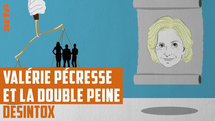 Désintox. Non, la double peine n'existe pas encore au Danemark, contrairement aux dires de Valérie Pécresse (ARTE/LIBÉRATION/2P2L)
