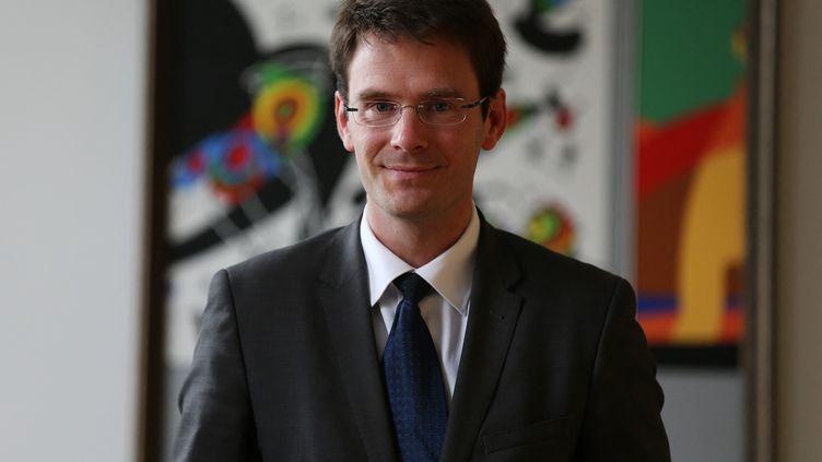 Nicolas Mayer-Rossignol est maire de Rouen et président de la métropole rouennaise depuis 2020. (CHARLY TRIBALLEAU / AFP)