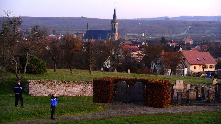 Le cimetière deWesthoffen en Alsace, le 3 décembre 2019.  (DAVID GEISS / MAXPPP)