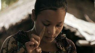 Nour dans le clip de Médine sur les Rohingyas  (Capture d'écran Youtube)