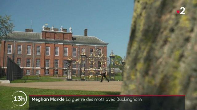 Royaume-Uni : guerre ouverte entre Buckingham Palace et le couple Meghan et Harry