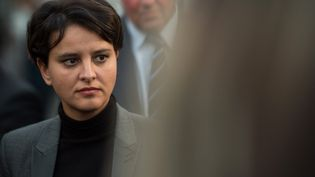 Najat Vallaud-Belkacem, le 28 novembre 2016, à Marseille. (BERTRAND LANGLOIS / AFP)