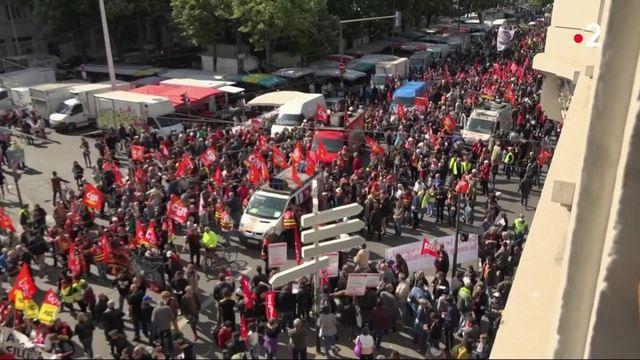1er-Mai : les retraités mobilisés à Lyon