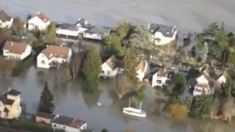 inondations yvelines (FRANCE 3)