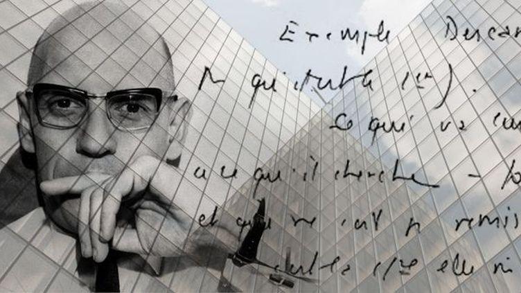 La BnF organise son dîner annuel des mécènes pour acquérir des archives de Michel Foucault  (Laurence Houot-Remy avec Ozkok/SIPA (Foucault) et Loic Venance / AFP (BnF))