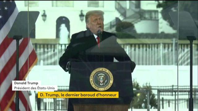 """""""Nous ne concéderons jamais la défaite"""", lance Donald Trump"""