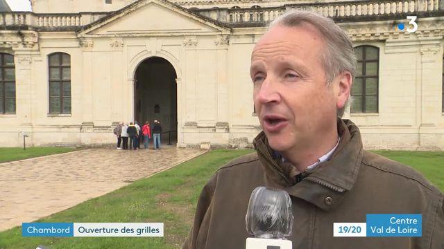 Réouverture du château de Chambord