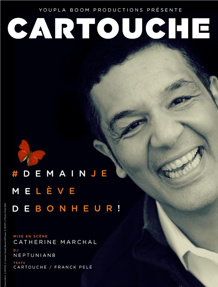 """""""Demain, je me lève de bonheur"""" : l'affiche  (DR)"""