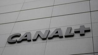 Le siège de Canal +, à Issy-les-Moulineaux. (MARTIN BUREAU / AFP)