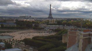 La vue sur la Tour Eiffel depuis l'hôtel Westin, à Paris. (HOTEL WESTIN)