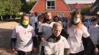 Harcèlement scolaire : dans le Pas-de-Calais, une marche blanche a eu lieu en hommage à Chanel (FRANCE 2)