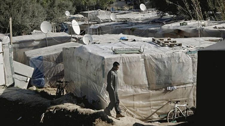 Réfugiés afghans en Grèce (Patras, 2009) (AFP/)
