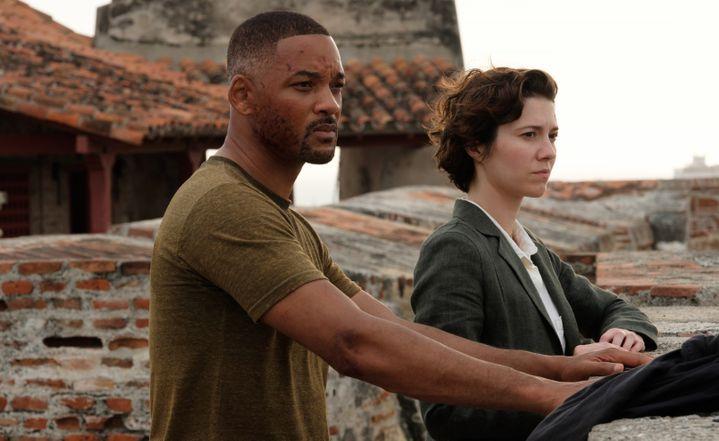 "Will Smith etMary Elizabeth Winstead dans ""Gemini Man"" de Ang Lee (PHOTO CREDIT: BEN ROTHSTEIN / Paramount Pictures)"