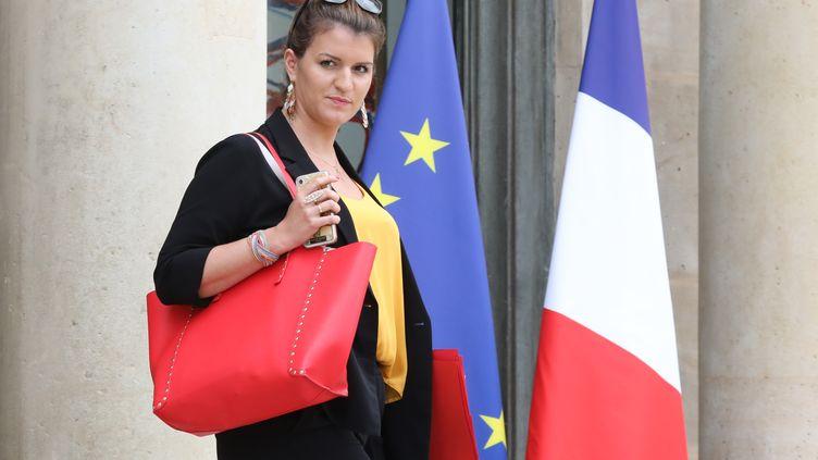 Marlène Schiappa, à Paris, le 30 mai 2018. (LUDOVIC MARIN / AFP)