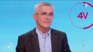 Yves Veyrier. (France 2)