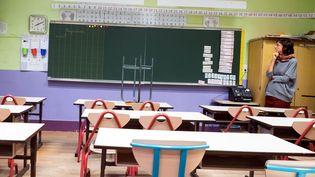 Une classe d'école élémentaire dans le 10e arrondissement de Paris, le 4 septembre 2017. (MAXPPP)