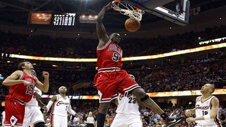 Noah et Deng - Chicago Bulls