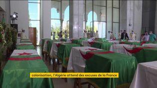 Les restes de combattants algériens remis par la France àson ancien département (FRANCEINFO)