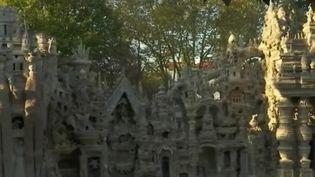 Le palais du facteur Cheval dans la Drôme (Capture d'écran France 2)