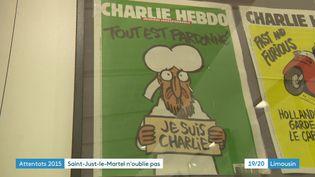 50 ans de Unes de Charlie Hebdo à l'honneur dans une exposition du Centre internationla du dessin de presse de Saint-Just-le-Martel (Haute-Vienne) (France 3 Nouvelle Aquitaine)
