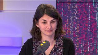 Aurélie Trouvé,maître de conférences en économie à l'institut AgroParisTech, le 25 février 2019. (FRANCEINFO / RADIO FRANCE)
