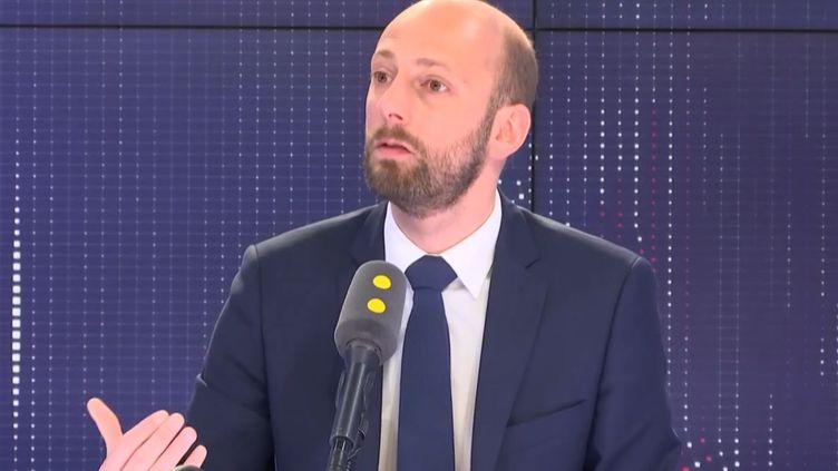 Stanislas Guerini, sur franceinfo le 10 mai 2019. (FRANCEINFO)
