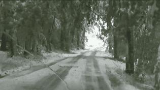 neige ardehe (FRANCE 2)
