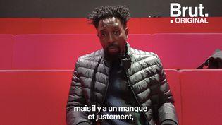 """VIDEO. Fondateur de l'école de cinéma Kourtrajmé, Ladj Ly pointe une """"sous-représentation"""" dans le milieu (BRUT)"""