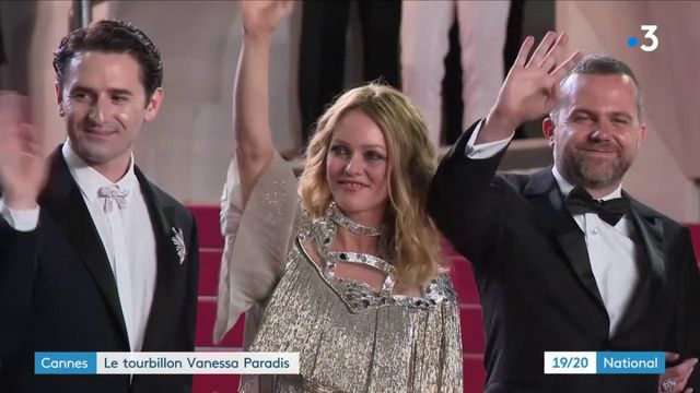 Cannes : le tourbillon Vanessa Paradis