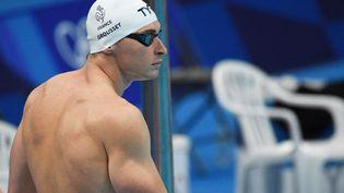 Maxime Grousset s'est qualifié pour la finale du 100m nage libre aux Jeux olympiques de Tokyo le 28 juillet 2021. (YOANN CAMBEFORT / MARTI MEDIA)