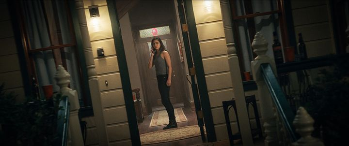 """Actress Melissa Barrera in """"Scream"""" (PARAMOUNT PICTURES GERMANY)"""